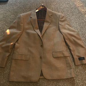 Other - Tan Suit Jacket Size 42S